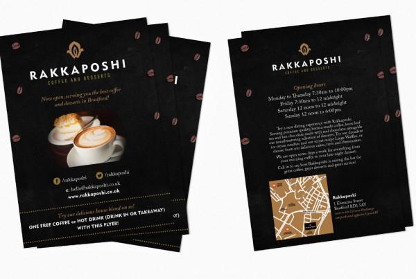 Rakkaposhi flyer design